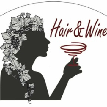 Hair wine logo