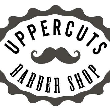UPPERCUTS BARBERSHOP logo