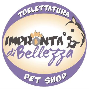 Impronta di Bellezza toelettatura e pet shop logo