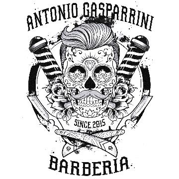 ANTONIO GASPARRINI BARBERIA logo