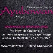 Ayubowan Estetica Cavenago logo