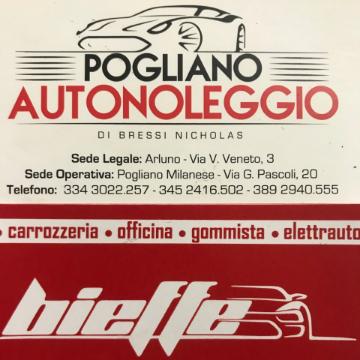 Pogliano Autonoleggio & Carrozzeria Bieffe logo