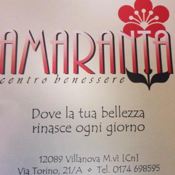 Centro Benessere Amaranta logo