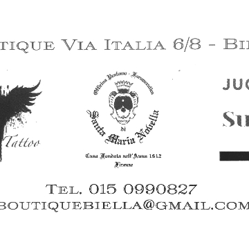 BOUTIQUE Via Italia 6/8 logo