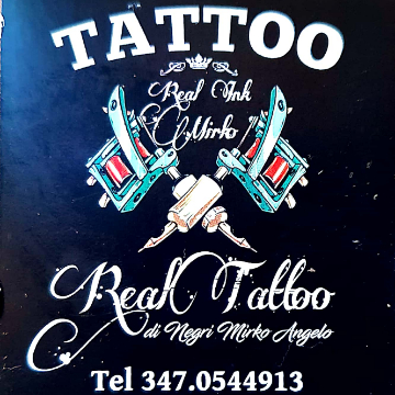 real tattoo di Mirko logo
