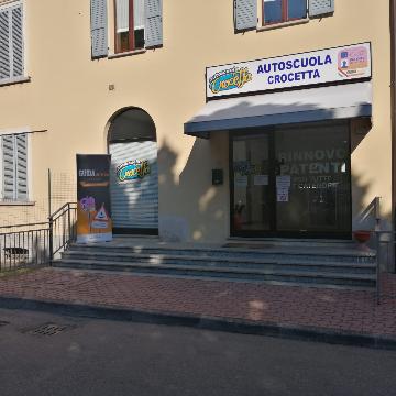 Autoscuola Crocetta Langhirano logo