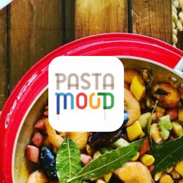 Pasta mood bottega / pasta mood ristorante logo